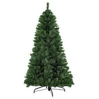 Christmas Tree with 600 Tips in Green PVC - 1.8m