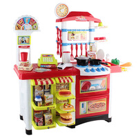Kids Kitchen and Supermarket Pretend Play Set 59pc