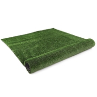 Artificial Grass Lawn Flooring in Olive 20x1m 15mm