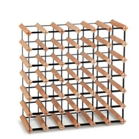 42 Bottle Timber Wine Rack Storage System