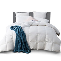 Lightweight King Size Goose Feather & Down Quilt