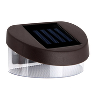 12x Solar Garden Fence Rechargeable LED Lights