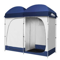 Weisshorn Portable Double Camping Shower Tent