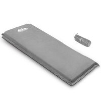10cm Thick Single Self Inflating Camp Mat in Grey