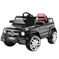 Kids Ride On Car in Black with Remote Control 12v