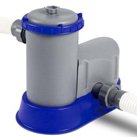 FlowClear Water Pump w Filter Cartridge 1,500gal/h