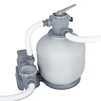 FlowClear Water Pump with Sand Filter 2,000gal/h
