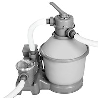 FlowClear Water Pump with Sand Filter 1,000gal/h