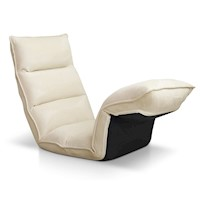 375 Degree Adjustable Floor Chair Lounge in Ivory