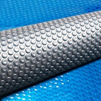 400 Micron Solar Pool Cover in Blue and Grey 8x4.2m