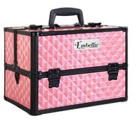 Portable Cosmetic Beauty Makeup Carry Case in Pink