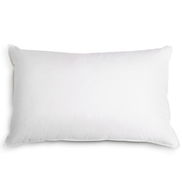 4x Medium Polyester Fibre Pillows with Cotton Cover