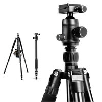 Convertible 2 In 1 Camera Tripod or Monopod 152cm