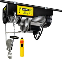 Electric Hoist w 18M Double Rope 1600W up to 1000KG