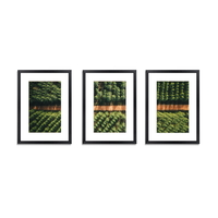 3-Piece Photo Frame Wall Set Black