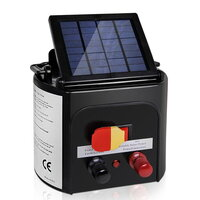 Solar Power Electric Fence Energiser Charger 3km