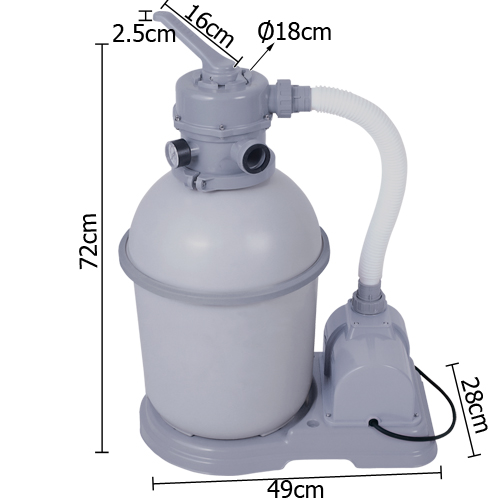 bestway flowclear sand filter manual