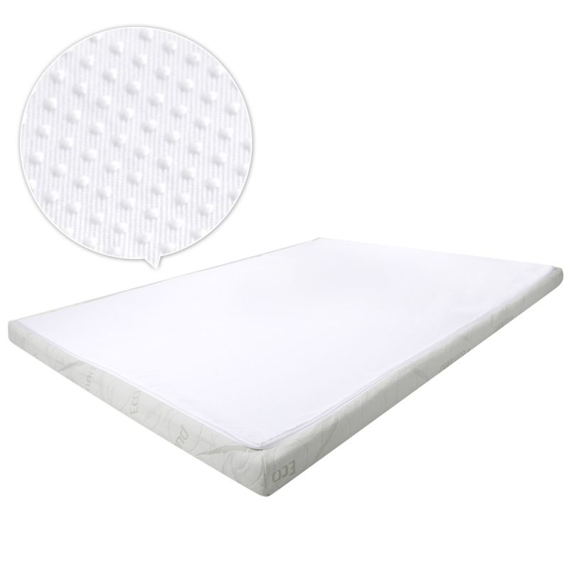 Cool gel memory foam mattress toppers 4 sizes buy memory foam mattress toppers 4 memory foam mattress topper