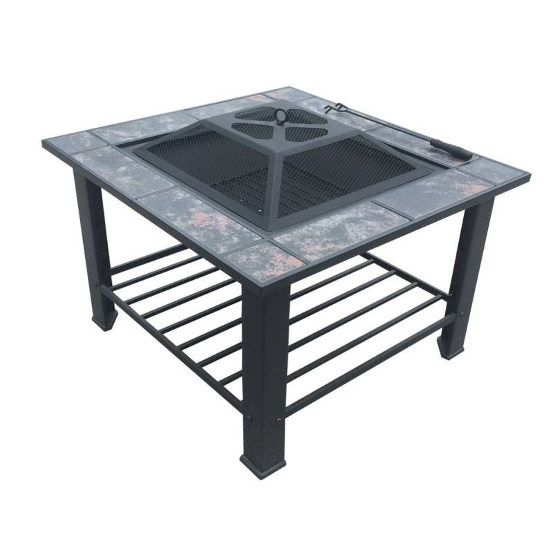 Outdoor Fire Pit Bbq Table Grill Fireplace Table Buy