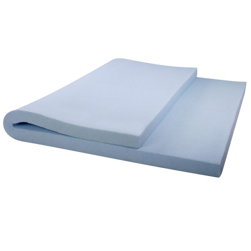 Cool gel memory foam mattress topper queen 8cm buy top sellers Top rated memory foam mattress
