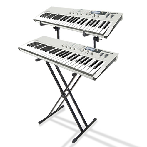 top grade double type x piano keyboard stand 2 tier buy musical supplies. Black Bedroom Furniture Sets. Home Design Ideas