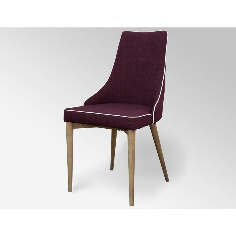 Plum martini retro dining chair buy dining chairs for Plum dining room chairs