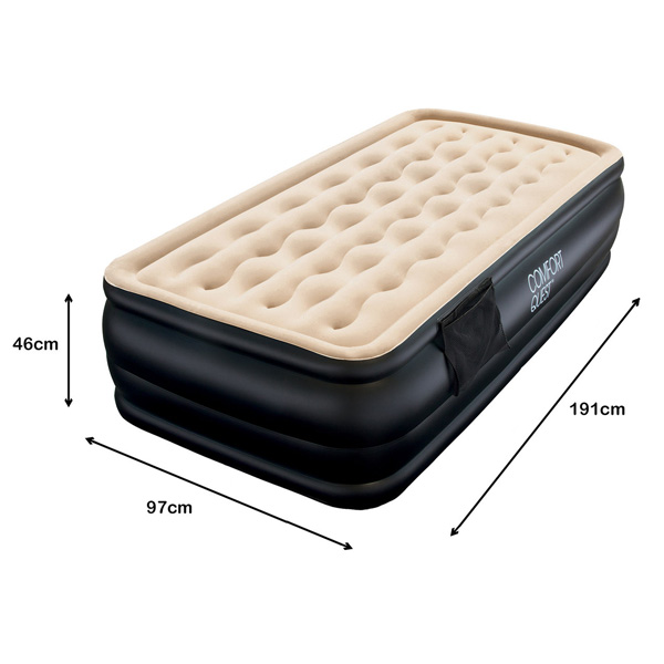Blow Up Mattress Inflatable Air Bed With 240v Pump Buy