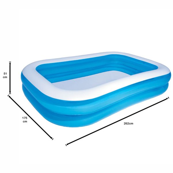 Bestway Above Ground Family Inflatable Blow Up Pool Buy Pools And Spa