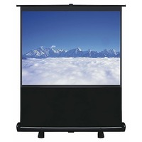 Pull Up Portable Office Projection Screen 100 inch