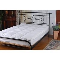 Queen Size Goose Feather Mattress Topper 650gsm
