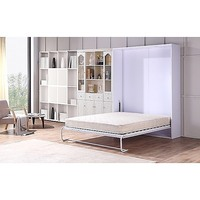 Fold Down Queen Size Palermo Hidden Murphy Wall Bed