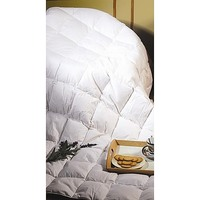 Queen Quilt - 100% White Duck Feather