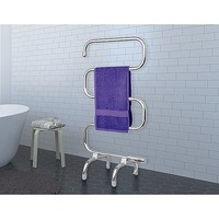 Free Standing Radiant Heated Towel Rack Rail 100W