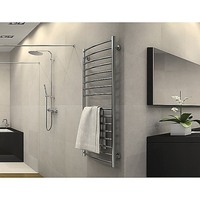 16 Rail Steel Heated Electric Towel Rack Rails 200W