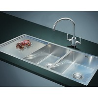 Undermount or Topmount Double Bowl Sink 1160x460mm