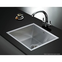 Undermount Topmount Stainless Steel Sink 44 x 44cm