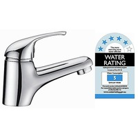 Compact Contemporary Sink Mixer Tap & Faucet