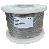 Stainless Steel Wire Rope Balustrade 3.2mm 200m