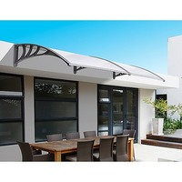 Outdoor Polycarbonate Window Awning 1500x2000mm