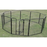 Pet Outdoor Run Exercise 10 Panel Playpen 120cm