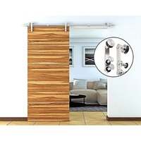 Sliding Barn Door Hardware Stainless Steel & Timber