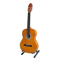 Orange 6 Steel String 39in Acoustic Guitar w/ Kit