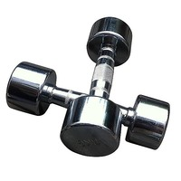 Chrome Dumbbell Weight Lifting (3kg Each)