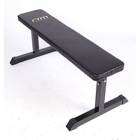 Home Gym Exercise Weights Flat Bench Press