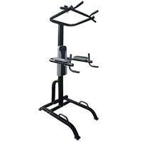 Power Tower Chin Pull Up Dip Bar Station Stand