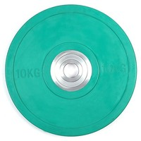 Pro Olympic Rubber Bumper Weight Plate (10kg)