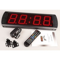 Large Wall Digital Timer Interval Gym Fitness Clock