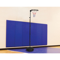 Adjustable Netball Hoop Ring with Stand 2.44-3.05m