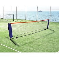 6m Portable Mini Tennis Net & Post Set Foldable