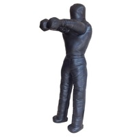 Black 70in Brazilian Jiu Jitsu Grappling Dummy 50kg